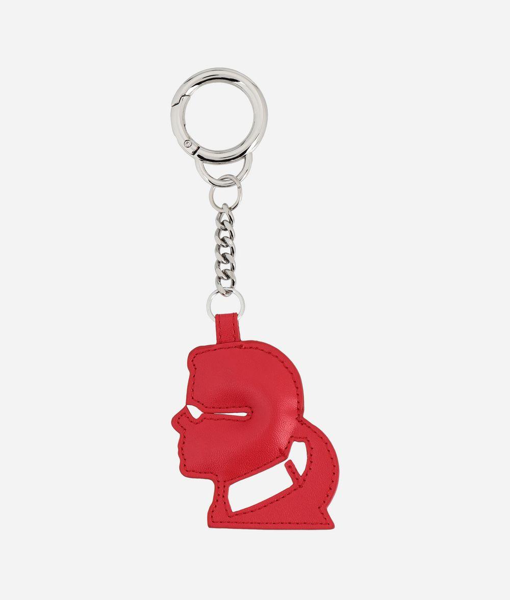 KARL LAGERFELD Cameo Keychain Key Chain Woman r