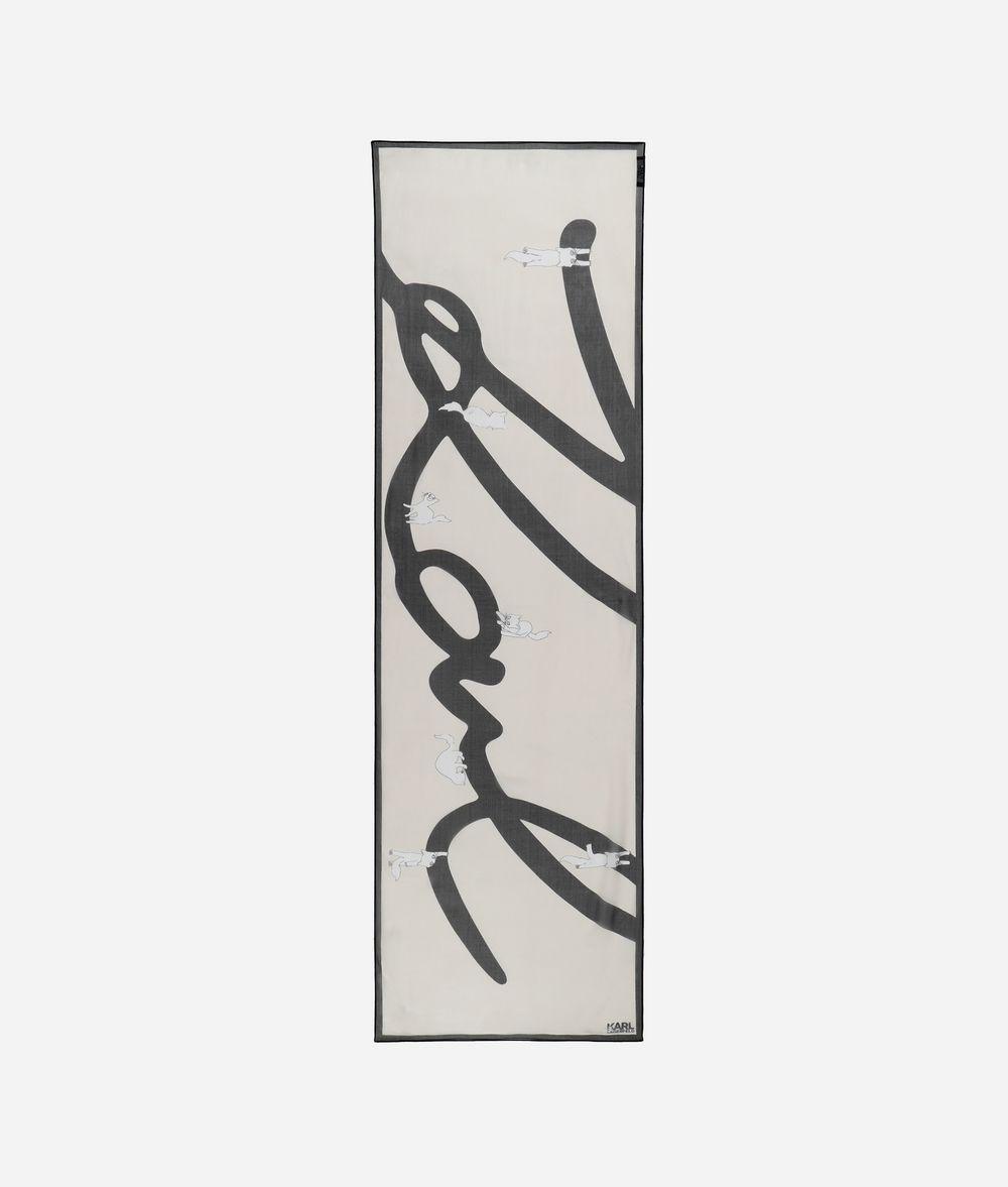 KARL LAGERFELD Шарф K/Signature Choupette Шарф Для Женщин f