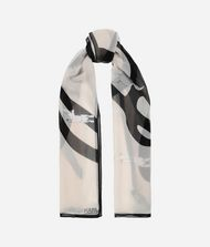 KARL LAGERFELD K/Signature Choupette Scarf 9_f