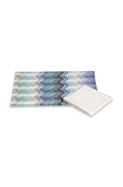 MISSONI HOME HILDE AMERICAN SET Sky blue E - Front