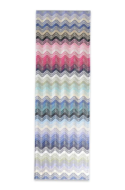 MISSONI HOME HILDE STRIPED Sky blue E - Back