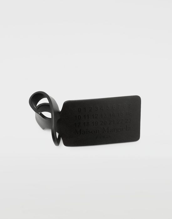 MAISON MARGIELA Printed leather tag charm Design Object [*** pickupInStoreShippingNotGuaranteed_info ***] r