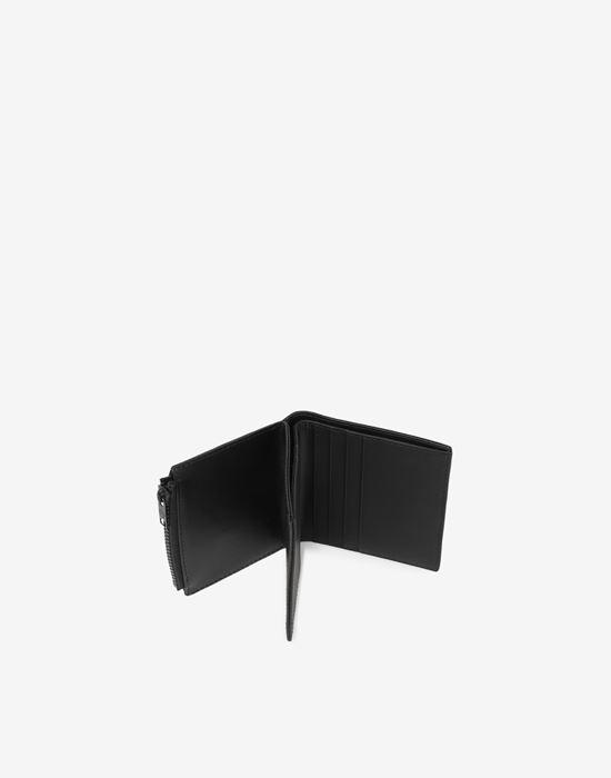 MAISON MARGIELA Medium fold-out leather zipped wallet Wallet [*** pickupInStoreShippingNotGuaranteed_info ***] a