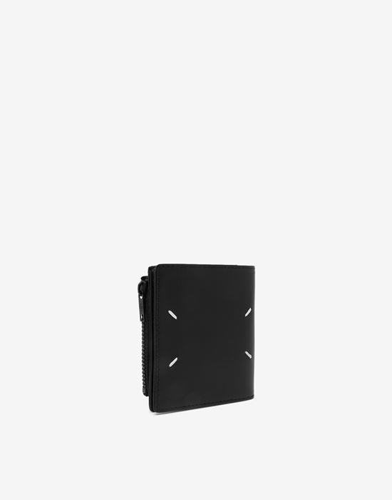 MAISON MARGIELA Medium fold-out leather zipped wallet Wallet [*** pickupInStoreShippingNotGuaranteed_info ***] r