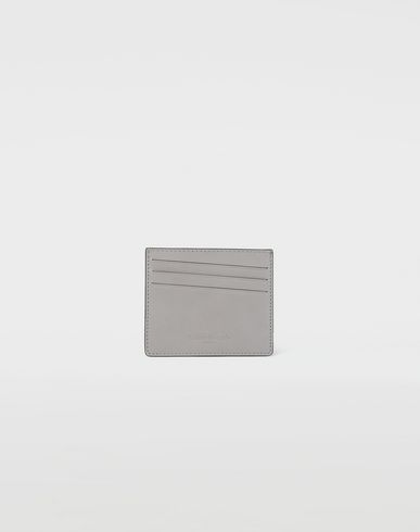 MAISON MARGIELA Wallet [*** pickupInStoreShippingNotGuaranteed_info ***] Two tone leather cardholder f