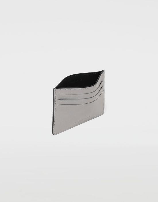 MAISON MARGIELA Two tone leather cardholder Wallet [*** pickupInStoreShippingNotGuaranteed_info ***] d
