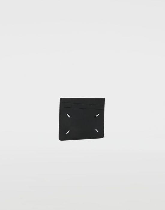 MAISON MARGIELA Two tone leather cardholder Wallet [*** pickupInStoreShippingNotGuaranteed_info ***] r