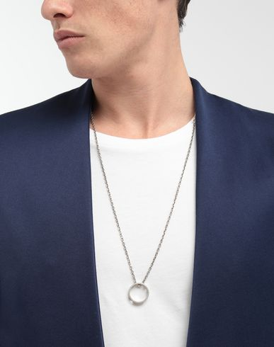JEWELRY  Perforated ring pendant