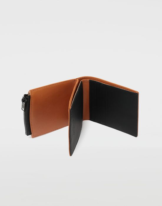 MAISON MARGIELA Medium fold-out leather zipped wallet Wallet [*** pickupInStoreShippingNotGuaranteed_info ***] a