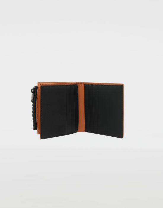 MAISON MARGIELA Medium fold-out leather zipped wallet Wallet [*** pickupInStoreShippingNotGuaranteed_info ***] d