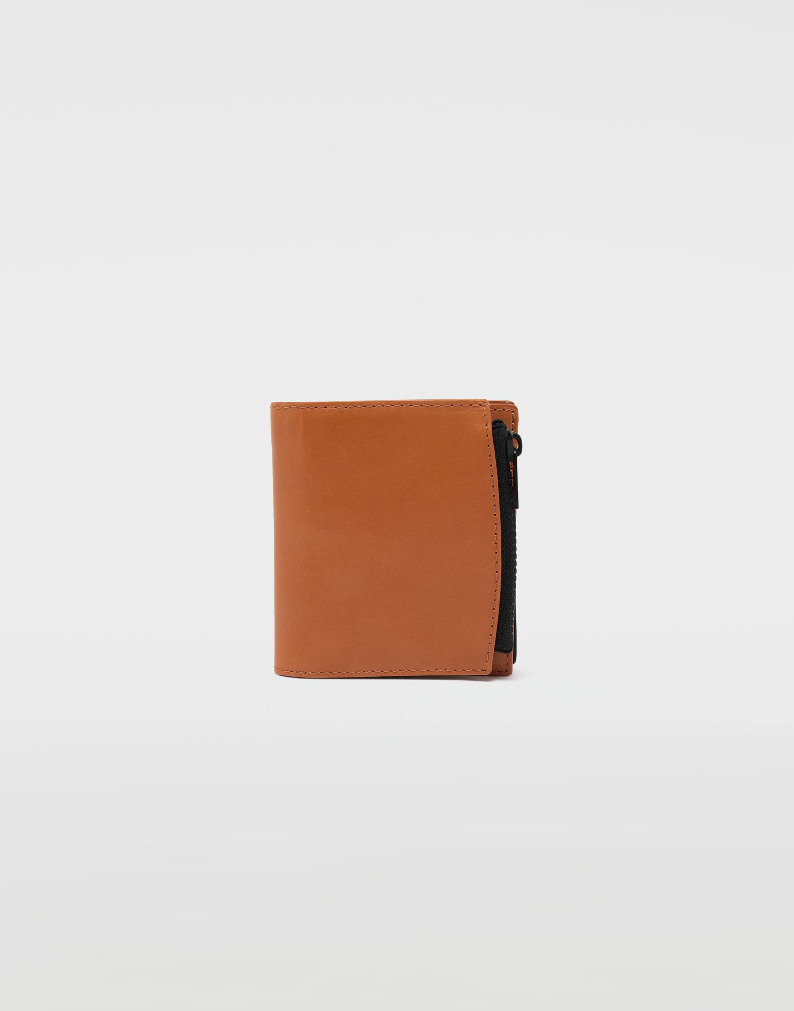 MAISON MARGIELA Medium fold-out leather zipped wallet Wallet Man f