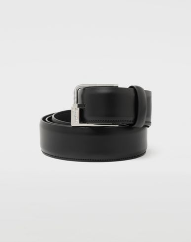 MAISON MARGIELA Slim leather buckle belt Belt [*** pickupInStoreShippingNotGuaranteed_info ***] f
