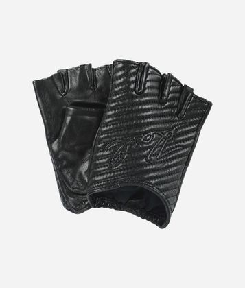 KARL LAGERFELD K/QUILTED GLOVES
