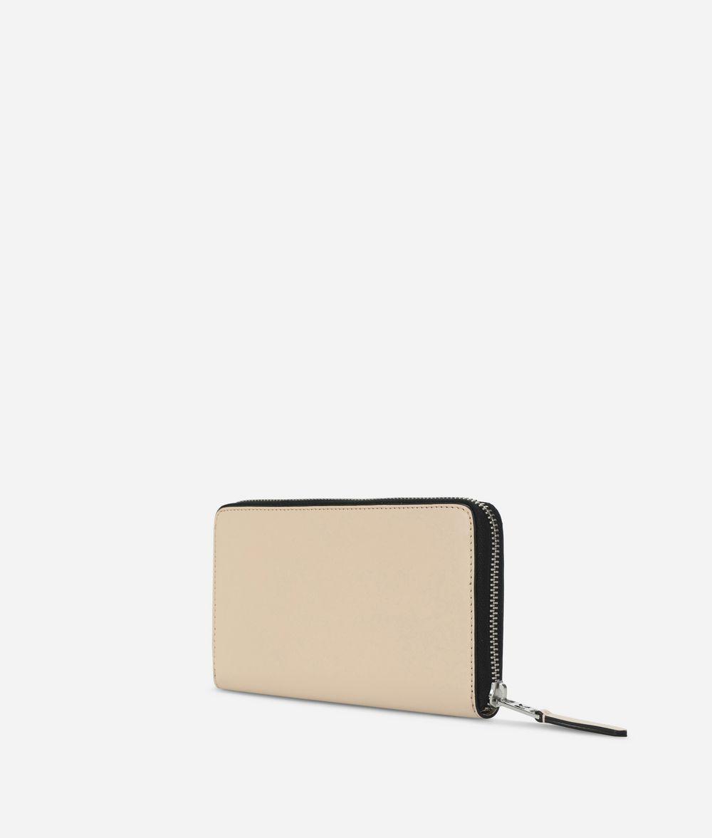 KARL LAGERFELD K/Signature Zip-Around Wallet Wallet Woman d