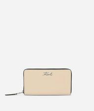 KARL LAGERFELD K/Signature Zip-Around Wallet 9_f