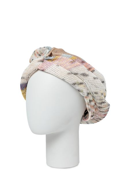 MISSONI Turban Beige Woman - Front