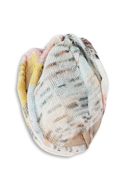 MISSONI Turbante Beige Donna - Retro