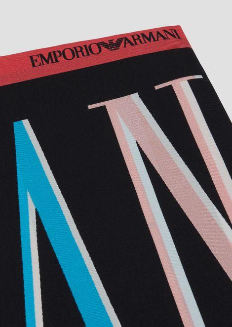 スカーフ シルク製 Emporio Armaniカラープリント
