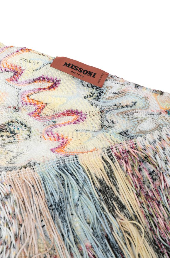 MISSONI Shawl Woman, Side view