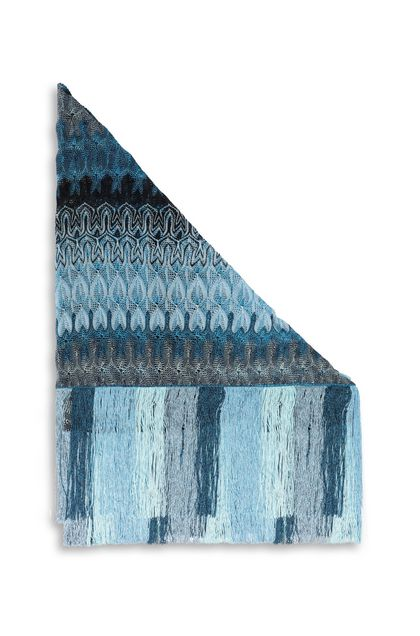 MISSONI Shawl Azure Woman - Front