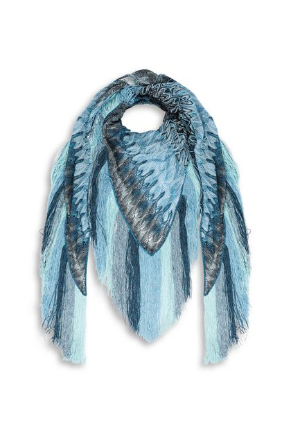 MISSONI Shawl Azure Woman - Back