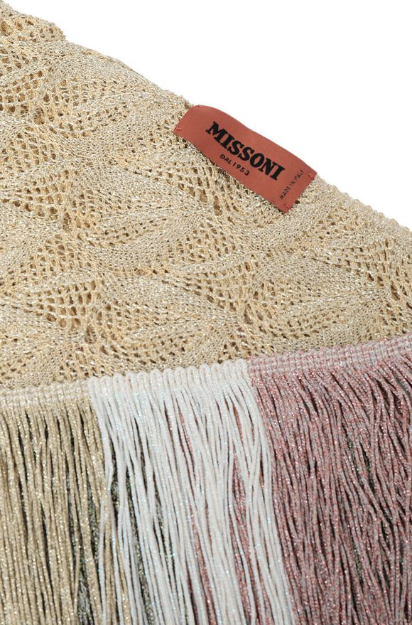 MISSONI Chal Mujer, Vista lateral