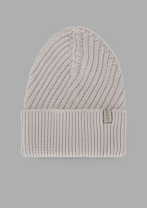 Cotton cuff hat