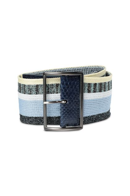MISSONI Belt Blue Woman - Back