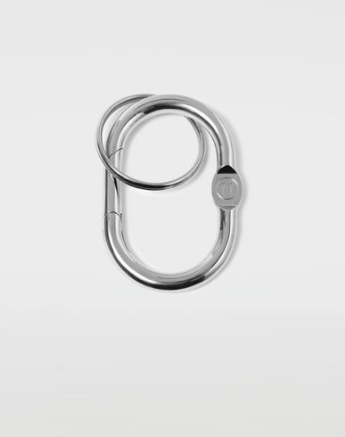 MAISON MARGIELA Key ring [*** pickupInStoreShippingNotGuaranteed_info ***] Double hoop small keyring f
