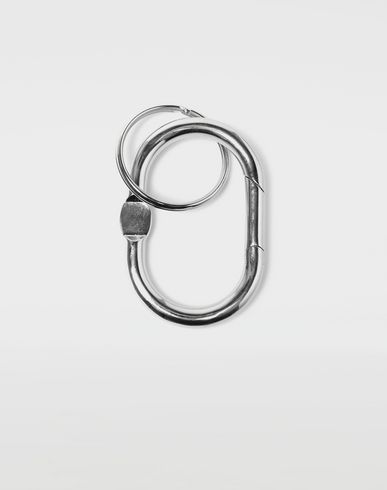 ACCESSORIES Double hoop small keyring