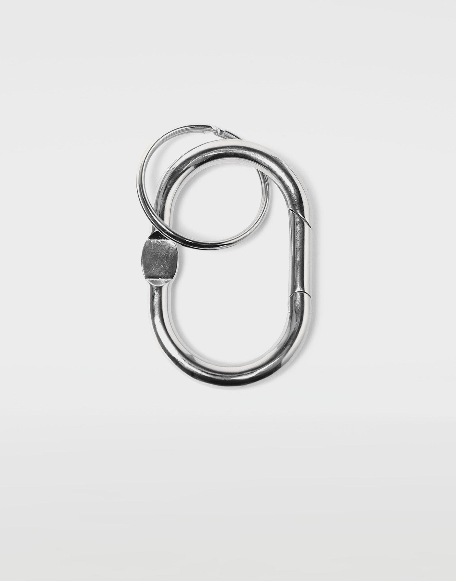 MAISON MARGIELA Double hoop small keyring Key ring Man r