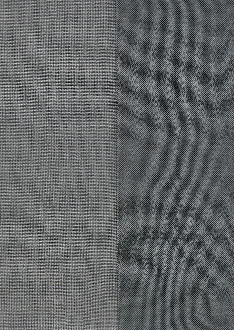Voile stole in graduated colors with Giorgio Armani signature