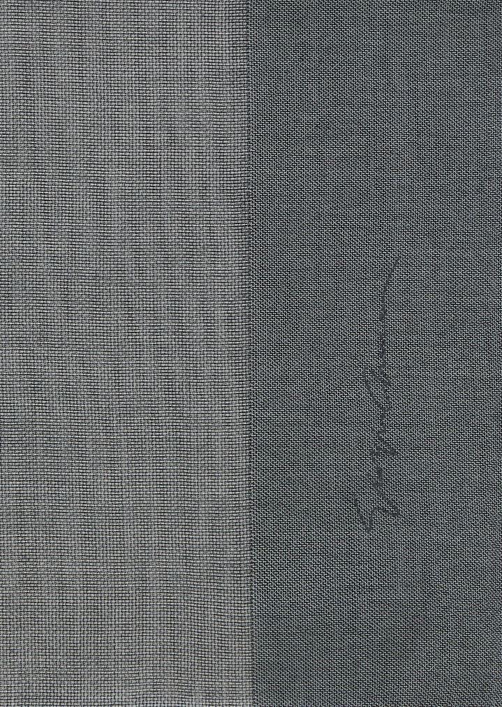 di prim'ordine lussureggiante nel design outlet in vendita Voile stole in graduated colors with Giorgio Armani signature