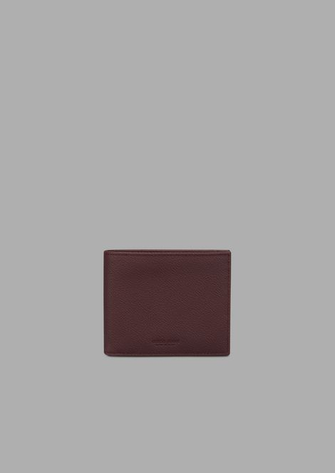 Cardholder in grained calfskin