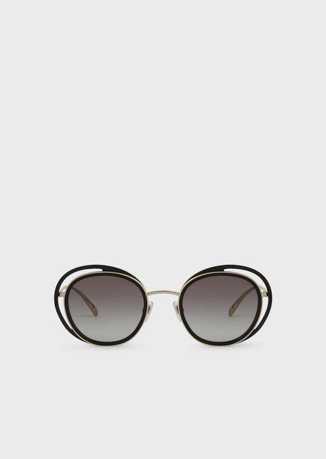 Women's butterfly-shaped sunglasses