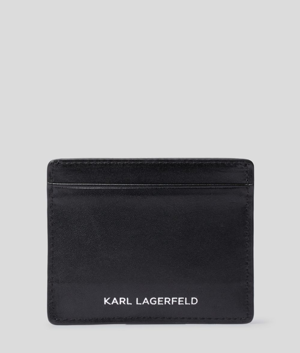 KARL LAGERFELD K/Klassik Pins Card Holder Cardholder Woman d