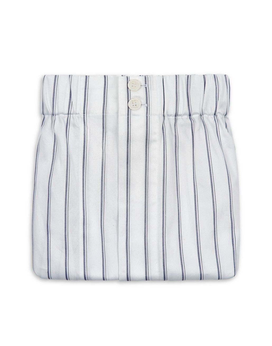 BRIONI White Striped Short Boxer Underwear Man r