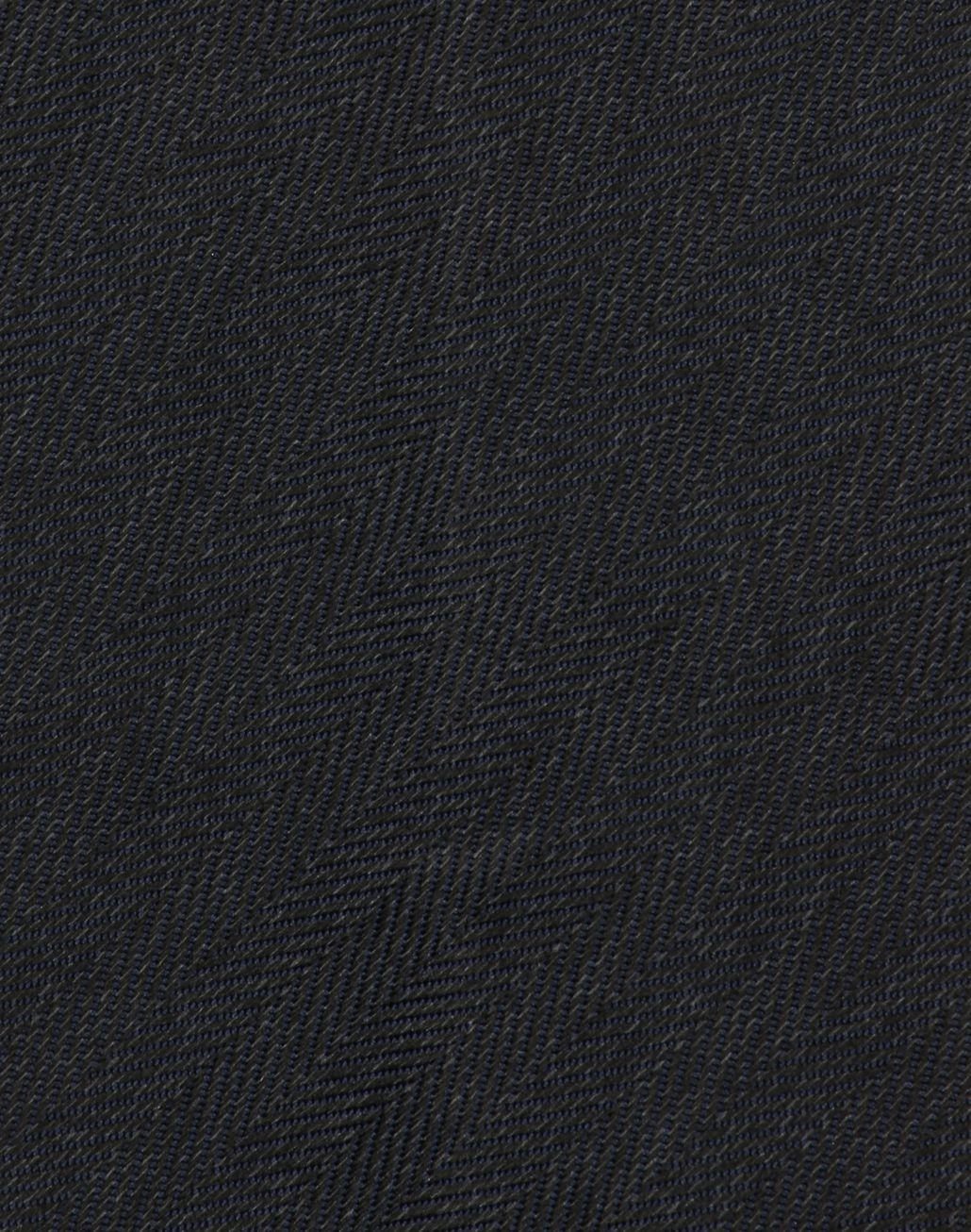 BRIONI Navy Blue Herringbone Tie Tie Man d