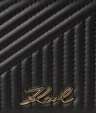 KARL LAGERFELD K/Signature Quilted Wallet Wallet Woman a