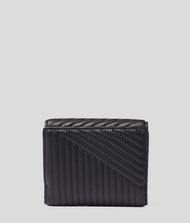 KARL LAGERFELD K/Signature Quilted Wallet Wallet Woman d