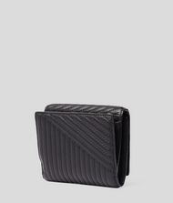 KARL LAGERFELD K/Signature Quilted Wallet Wallet Woman r