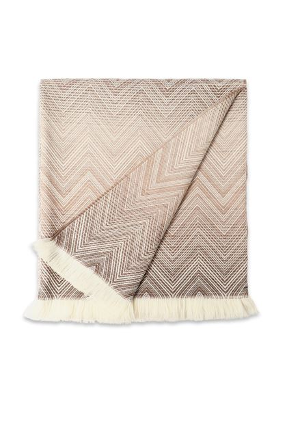 MISSONI HOME Idea regalo: manta Beige E - Parte posterior