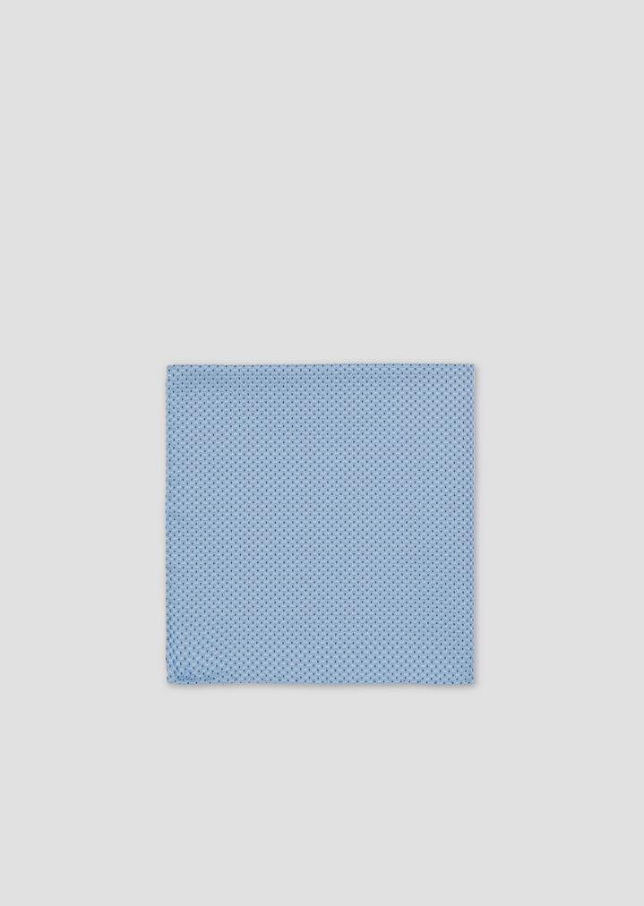 31e77c91cc Pocket square in pure silk with geometric pattern
