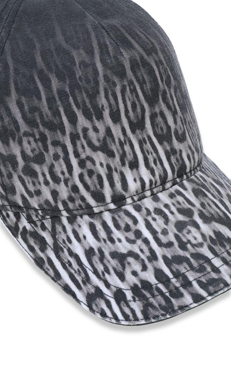 JUST CAVALLI Leopard-print baseball cap Hat Man d