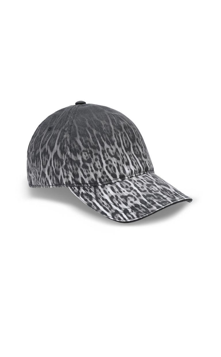 JUST CAVALLI Leopard-print baseball cap Hat Man f