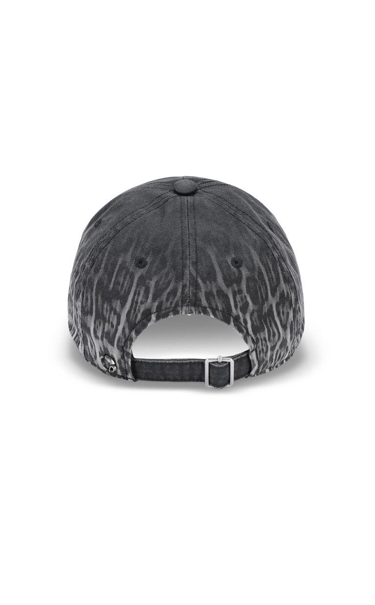 JUST CAVALLI Leopard-print baseball cap Hat Man r