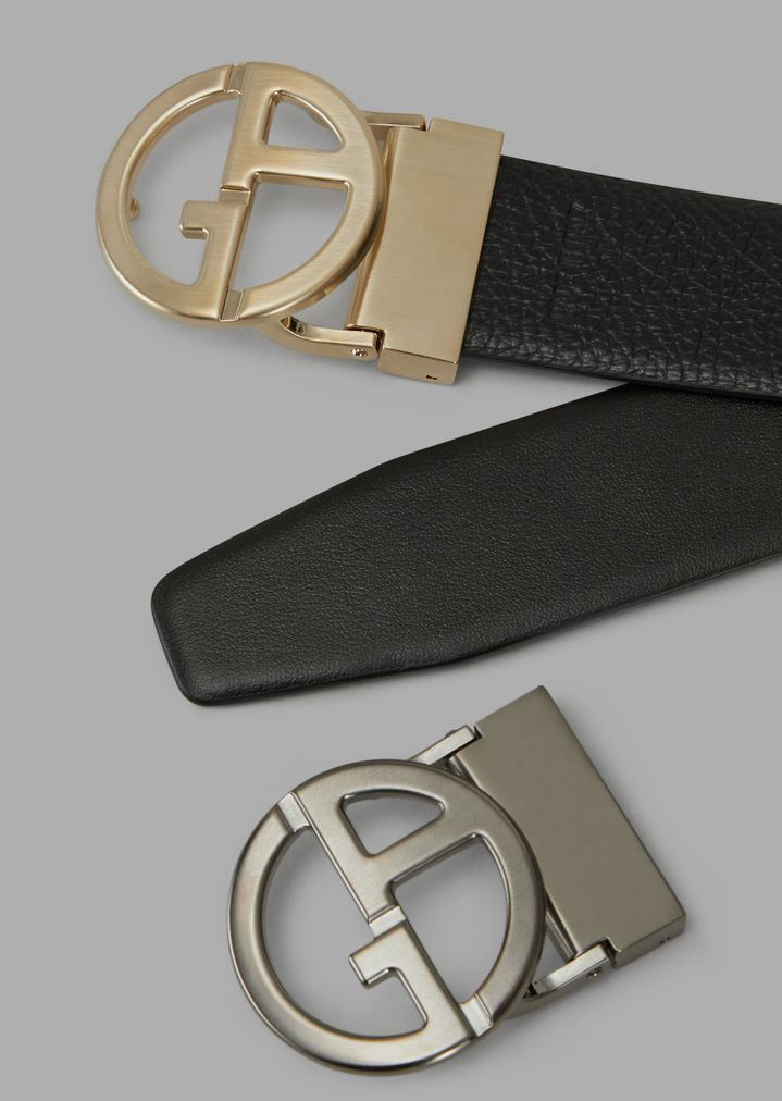 9c5d46f9aa Gift set with reversible belt panel and two interchangeable buckles