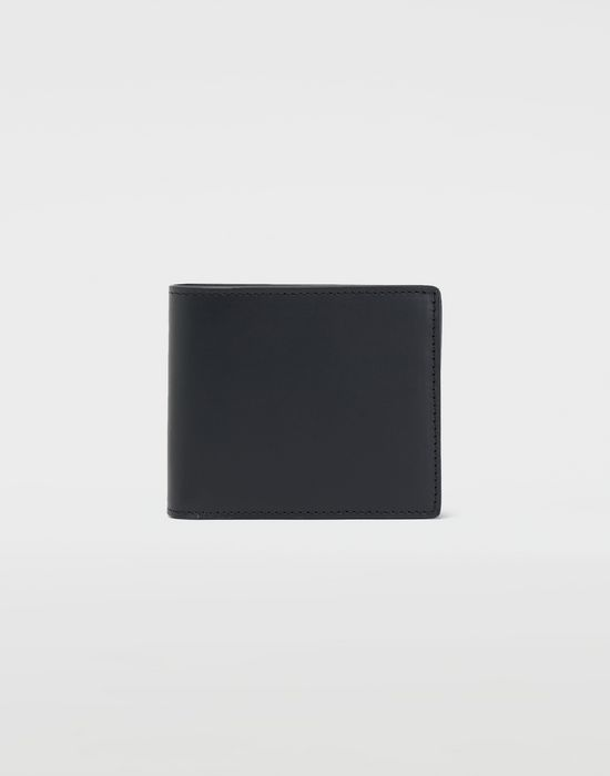 MAISON MARGIELA Fold-out leather wallet Wallets [*** pickupInStoreShippingNotGuaranteed_info ***] f