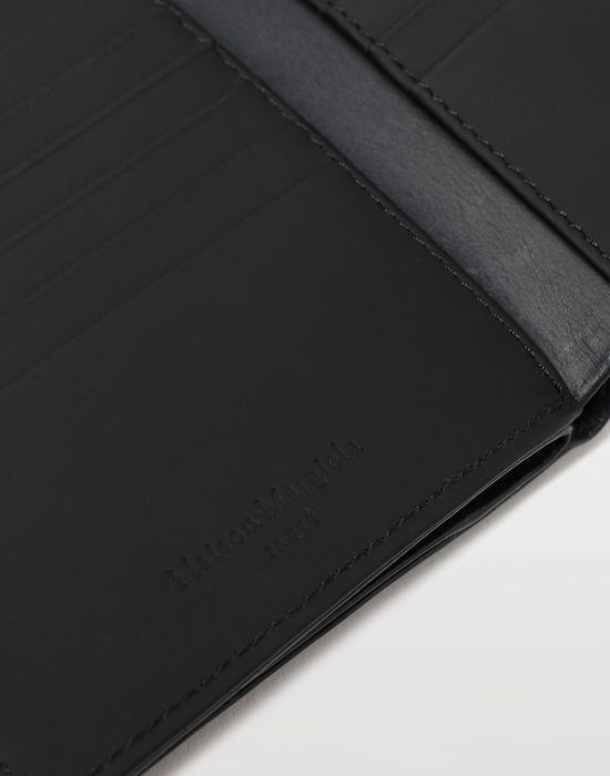 MAISON MARGIELA Large fold-out leather zipped wallet Wallet [*** pickupInStoreShippingNotGuaranteed_info ***] e