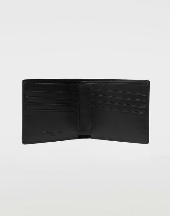 MAISON MARGIELA Logo-embossed leather cardholer Wallets [*** pickupInStoreShippingNotGuaranteed_info ***] d